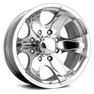 Pacer Warrior 187P 16x8 5x135 +10mm Polished Wheel