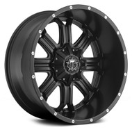TIS 535b Wheels 17x9 6x135 6x5.5 6x139.7 -12 Black | 535B-7906812