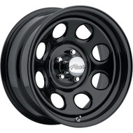 Pacer 297B Soft 8 Black 15X7 Wheels 5X4.5 0mm | 297B-5712
