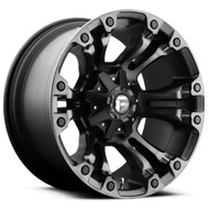 18x9  Fuel Vapor Wheels Black Machined 6x5.5 6x135 -12 | D56918909845