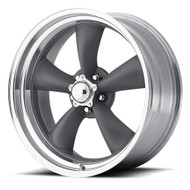 American Racing Classic Torq Thrust II Wheels 14x6 5x4.75 Gray -2mm | VN2154661