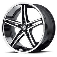 Asanti ABL-7 Wheels 22x10 5x112 Black Machine 38mm | ABL7-22105638MS