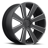 DUB 8-BALL Wheels 24x10 6x5.5 (6x139.7) Black 30mm | S187240077+30