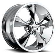 Foose Legend Wheels 18x8.5 5x4.5 (5x114.3) Chrome 34mm | F105188565+34