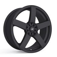 ICW Racing 216B Mach 5 Wheels 15x6.5 4x100 & 4x108 Black 38mm | 216B-5650238