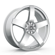 ICW Racing 216S Mach 5 Wheels 15x6.5 4x100 & 4x108 Silver 38mm | 216S-5650238
