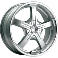 Pacer 774MS Reliant Wheels 14x6 4x100 & 4x4.5 Silver 38mm | 774MS-4600338
