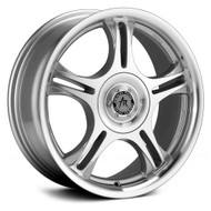 American Racing Estrella Wheels 15x7 4x100 & 4x4.5 Machine 35mm | AR955716