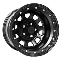 Pro Comp Steel Wheelss Series 252 Wheels 15x10 5x4.5 Black -44mm | 252-5165F