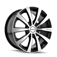 Touren TR3 Wheels 18x8 5x100 & 5x4.5 Black Machine 40mm | 3130-8803M