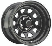 Pro Comp Steel Wheelss Series 51 Wheels 15x10 5x127 Black -44mm | 51-5173
