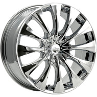 Pacer 776C Silhouette Wheels 18x7.5 5x108 & 5x4.5 Chrome 42mm | 776C-8751442