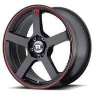 Motegi Racing MR116 Wheels 17x7 5x4.5 & 5x100 Black 40mm | MR11677031740