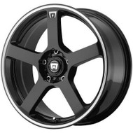 Motegi Racing MR116 Wheels 17x7 5x4.5 & 5x112 Black 40mm | MR11677046340
