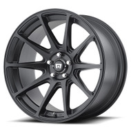 Motegi Racing MR127 Wheels 17x8 5x4.5 (5x114.3) Black 38mm | MR12778012738