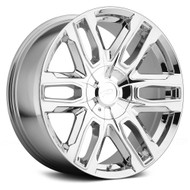 Pacer 787C Benchmark Wheels 20x9 6x135 & 6x5.5 Chrome 25mm | 787C-2935+25