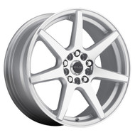 Raceline Evo Wheels Silver 15x7 4x100 4x108 40MM | 131S-57082+40
