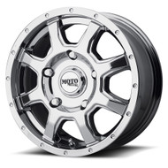 Moto Metal MO970 Wheel 17x8 Custom Drilled BP Chrome 50mm Offset