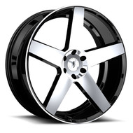 Status ® Empire 24x9.5 Wheels Black Machined 6x5.5 (6x139.7) 15 | 2495EMP156140F78