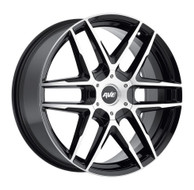 Avenue A613 Black Machined Wheels Rims 22x9 6x5.5   18 | A613-2290655018B