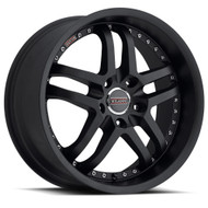 Milanni Kapri 9012 Satin Black Wheels Rims 20x10.5 5x4.5   42 | 9012-20165SB42