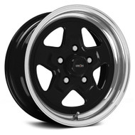 Vision Nitro 521 Black Polished Wheels Rims 15x4 4x108  -19 | 521H5434B-19