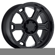 Vision Raptor 372  Matte Black Wheels Rims 16x8 5x5.5   0 | 372-6885MB0