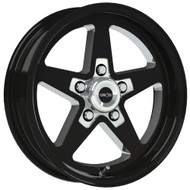 Vision Sport Star II 571 Black Milled Wheels Rims 17x4.5 5x120  -24 | 571-7412B-24