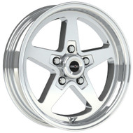 Vision Sport Star II 571 Polished Wheels Rims 17x4.5 5x115  -24 | 571-7490P-24