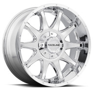 Raceline Shift Chrome Wheels Rims 16x8 Blank 0 | 930C-68000-00(6P)
