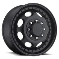Vision Hauler Duallie 181 Matte Black Front Wheels Rims 19.5x6.75 8x6.5 (8x165.1)  102 | 181H9681MBF121