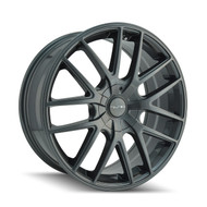 Touren TR60 Wheels Rims 17x7.5 Gunmetal 5x127 (5x5) 42mm | 3260-7773G | Free Shipping!