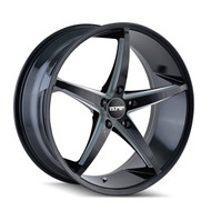 Touren TR70 Wheels Rims 18x8 Black Milled 5x112 35mm | 3270-8845B35 | Free Shipping!