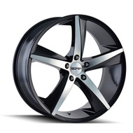 Touren TR72 Wheels Rims 17x7.5 Black Machined 5x112 40mm | 3272-7745B | Free Shipping!
