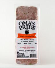 Oma's Pride Turkey & Veggie Mix