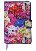 Lilies in the Garden Fabric Book Cover