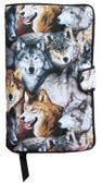 Wolves II Fabric Book Cover Design