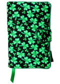 Shamrocks Fabric Book Cover Design