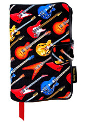 Wrap your books in a rockin' world of guitars.