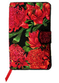 Waratah Beauties Fabric Book Cover Design