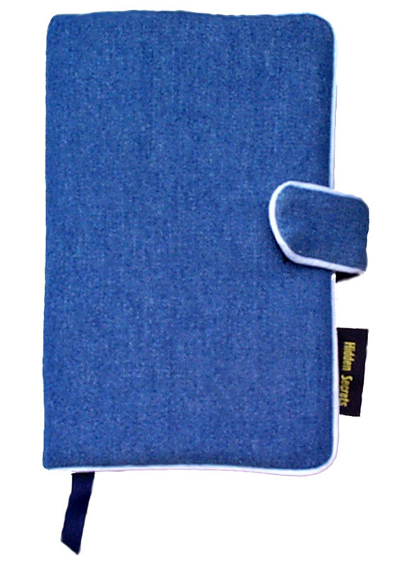 How To Make A Book Cover Look New : Denim fabric book cover paperback hardcover bookcover