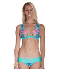 Jessica Mint/Rainbow Batik Top