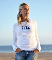 Born Free Hoodie - White