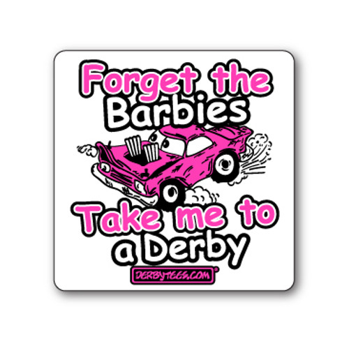 Forget the Barbies Sticker