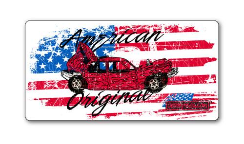 American Grunge Sticker