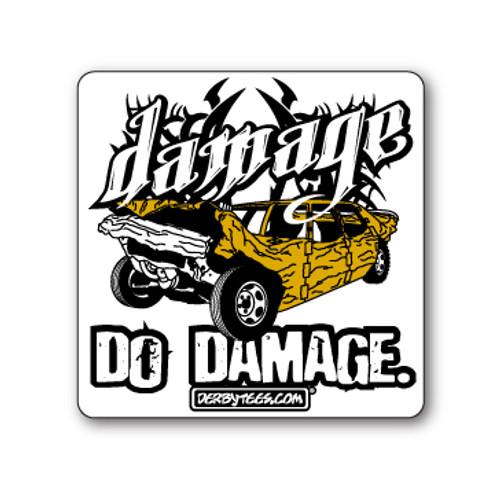 Do Damage Sticker