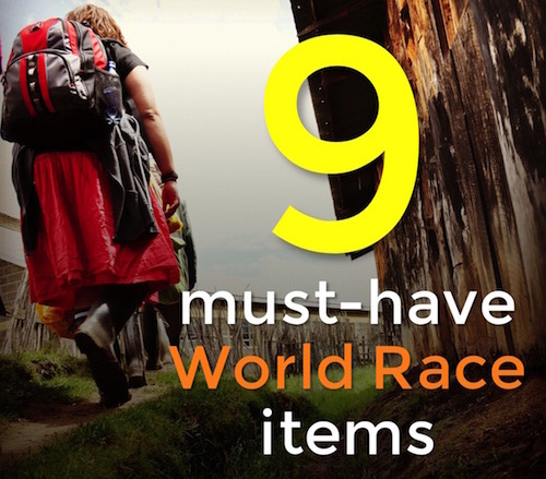 9 Must-have World Race items that you might be forgetting