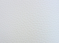 WHITE GRAINED  UPHOLSTERY LEATHER VINYL  BY THE METRE