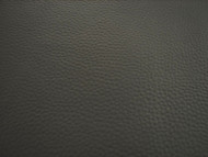 GREY GRAINED UPHOLSTERY LEATHER VINYL FABRIC x 25 METRES