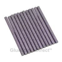 "Purple Glitter Glue Sticks mini X 4"" 12 sticks"